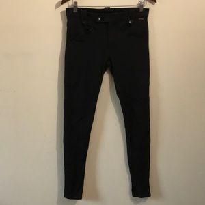POLO Ralph Lauren Black Riding Pants Ankle Zippers